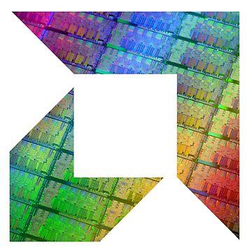 AMD Arrow Logo   Silicon by BHawk-Graphics