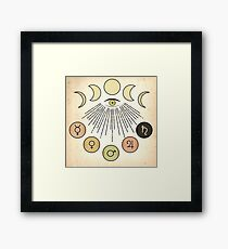 Astrology Framed Print