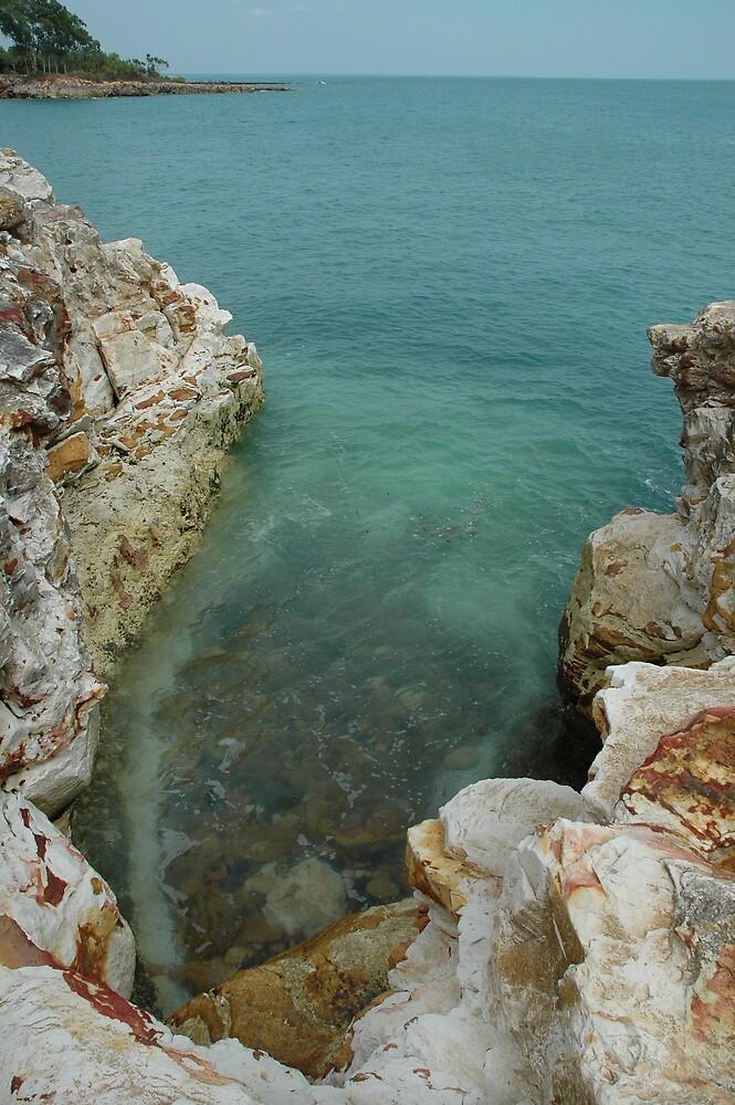Rock puddle... by Imants Jaunitis