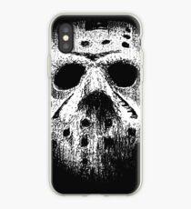 Hockey mask iPhone Case