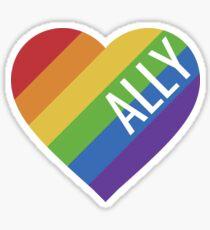 Gay Pride Ally LGBT Sticker