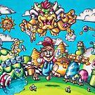 Super Mario 3 by jeremysart