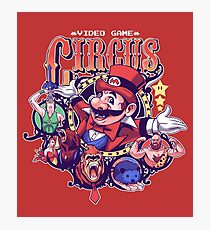 Video Game Circus Photographic Print