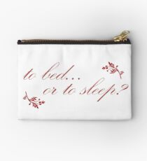 Outlander - to bed or to sleep? Studio Pouch