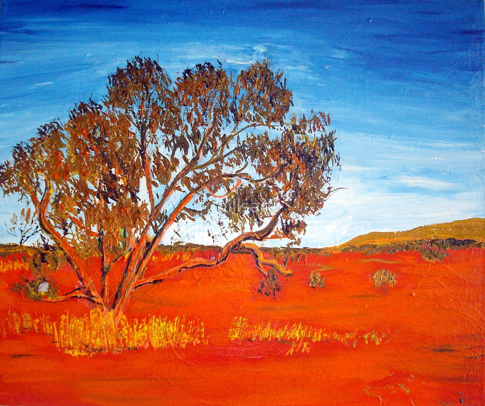 Outback Tree by gillsart