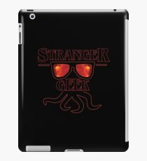stranger geek fire! iPad Case/Skin