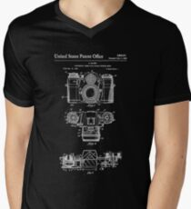 Camera Patent White T-Shirt
