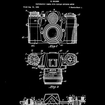Camera Patent White by Vesaints