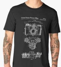 Camera Patent White Men's Premium T-Shirt