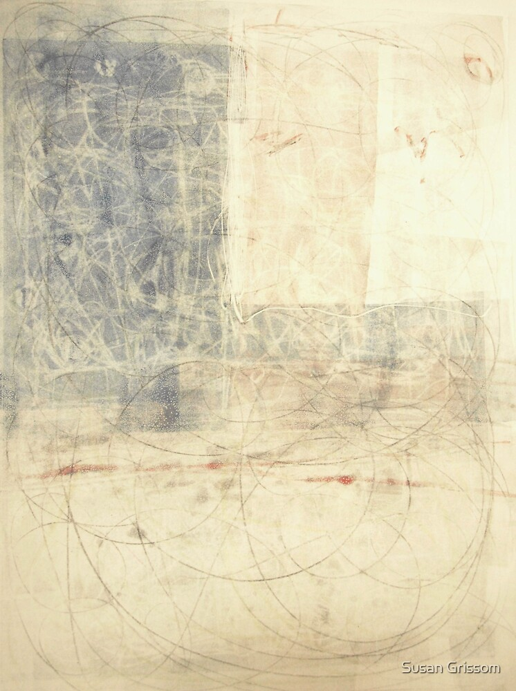 Monoprint 4 by Susan Grissom