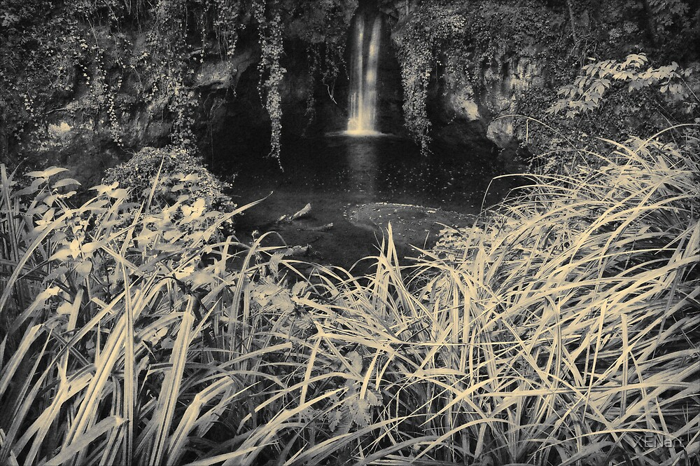Waterfall in Vejo by XENart