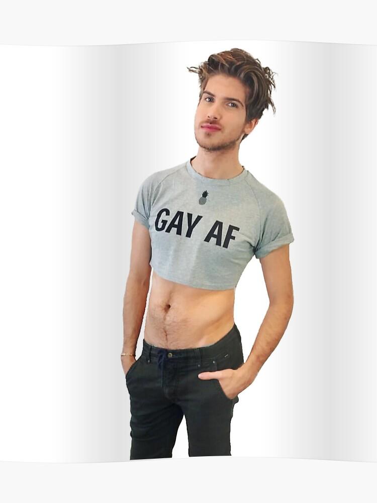 Joey Graceffa - GAY AF | Poster
