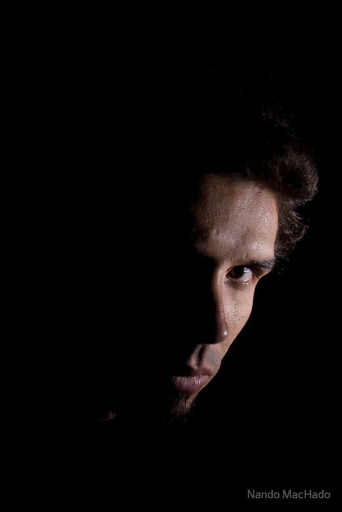 Self-Portrait, Dark by Fernando Machado