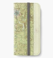 USGS Topo Map Oregon Mount Hood 283227 1927 125000 iPhone Flip-Case/Hülle/Klebefolie
