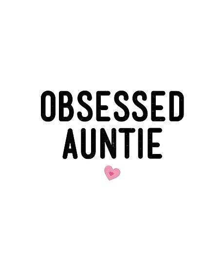Besessene Tante Shirt Tante Life Vibes Geschenk von Neffe Nichte ...