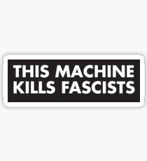 This moschino kill fascist Sticker