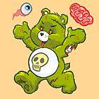 Zombie Bear by astrazero