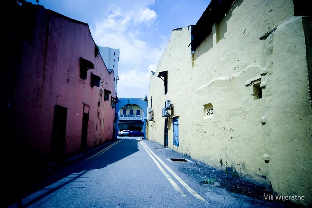 Coloured Passageway by Mili Wijeratne