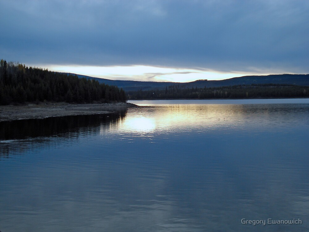 McCulloch Lake Sunset by Gregory Ewanowich