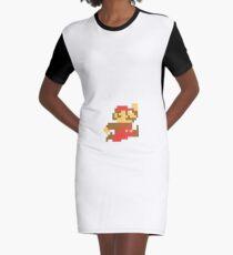 Jumpan Mario Graphic T-Shirt Dress