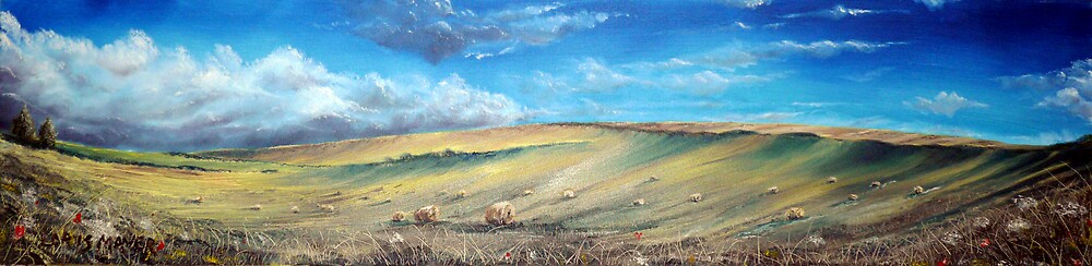 Heighton Hill ( sussex)  by LorusMaver