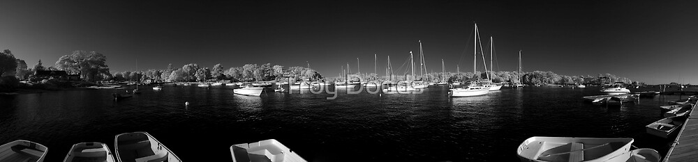 Tuck's Point boats by Troy Dodds