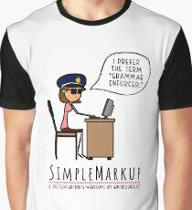 Grammar Police Graphic T-Shirt