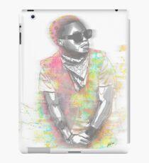 Lupe Fiasco Grey Splash iPad Case/Skin