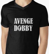 Avenge Dobby white Men's V-Neck T-Shirt