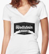 best OTP - Hollstein Women's Fitted V-Neck T-Shirt