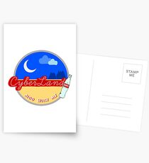 over the moon Postcards