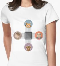 CPU connect Women's Fitted T-Shirt