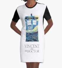 """Vincent and the Doctor"" Graphic T-Shirt Dress"