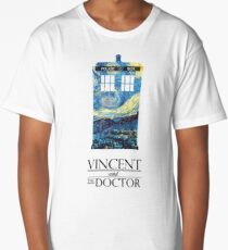 """Vincent and the Doctor"" Long T-Shirt"