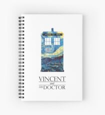 """""""Vincent and the Doctor"""" Spiral Notebook"""
