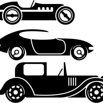 Vintage Cars by vectorworks51