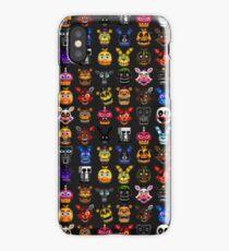 NEW - FNAF Multiple Animatronics - (Dec 2016) - Pixel art iPhone Case/Skin