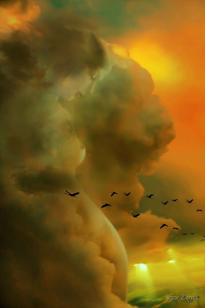 Cloudy Look by Igor Zenin