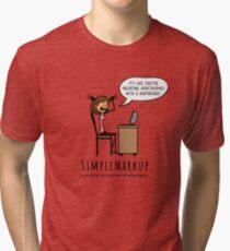Apostrophe Stress Tri-blend T-Shirt