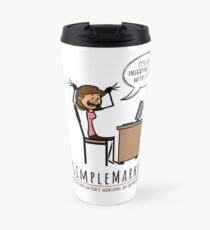 Apostrophe Stress Travel Mug