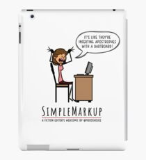 Apostrophe Stress iPad Case/Skin