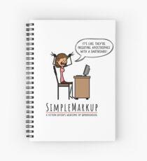 Apostrophe Stress Spiral Notebook