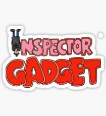 Inspector Gadget Sticker