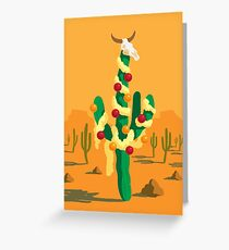 Merry Cactus Greeting Card
