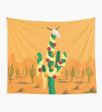 Merry Cactus Wall Tapestry
