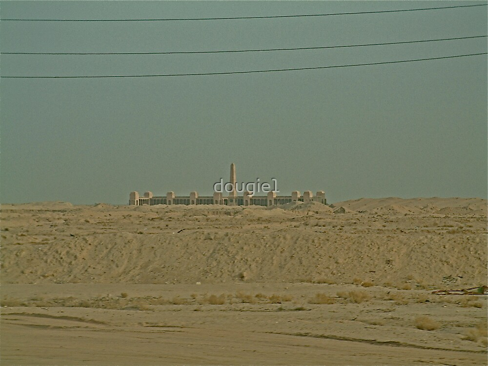 The British War Memorial - Iraq by dougie1