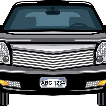 Black car by vectorworks51