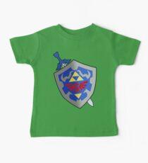 Schwert und Schild Baby T-Shirt