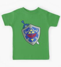 Sword and Shield Kids Tee