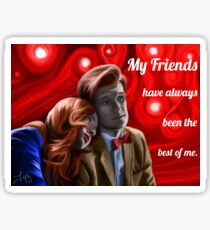 My Friends Sticker
